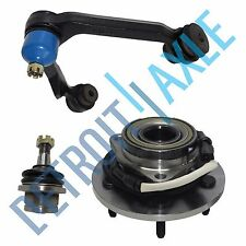 3pc Kit Wheel Hub and Bearing Upper Right Control Arm Lower Ball Joint w/ABS 4x4