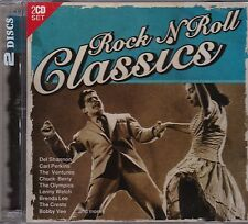 ROCK N ROLL CLASSICS - VARIOUS ARTISTS on 2 CD's - NEW -