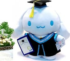 Sanrio Cinnamoroll Puppy Graduation Grad Plush Doll Congratulation Gift Toy 13""