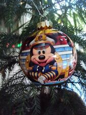 "DISNEY CRUISE LINE ""MICKEY & MINNIE, GOOFY & PLUTO"" HANGING CHRISTMAS ORNAMENT"