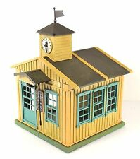 Playmobil 6279 Western Schoolhouse building clock tower preschool pretend gift