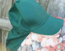 BUNNINGS WAREHOUSE CAP WITH NECK COVER/PROTECTOR COTTON ONE SIZE FITS MOST NEW