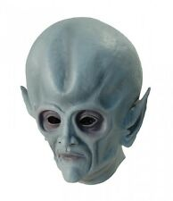 Space Alien Overhead Rubber Mask – Adults Sci fi Fancy Dress Mask Halloween