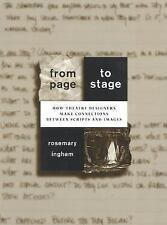 From Page to Stage: How Theatre Designers Make Connections Between Scripts and I