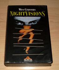 VHS - Wes Cravens Nightvisions - Horrorfilm 1990 - Videokassette