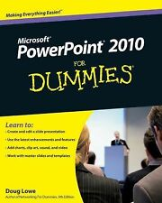 PowerPoint 2010 For Dummies by Lowe, Doug