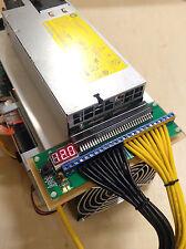 208V/240v 1500w High Efficiency 94% Power Supply Kit for Bitmain Antminer S9
