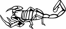 Scorpion Car/Bike Vinyl Graphic Sticker Decal