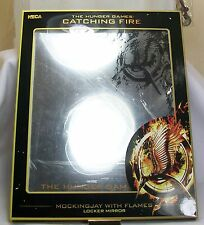 """Hunger Games Catching Fire Mockingjay w/ Flames Magnetic Locker Mirror 8.5"""" x11"""""""