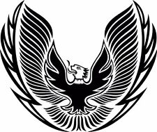 Eagle Tribal Hood Graphic Vinyl Decal