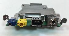Canon XH-A1s Part Headphone Port Jack With Circuit Board Works Used