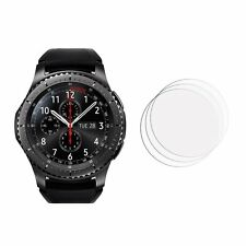 2 Samsung Gear S3 Frontier Ultra Clear Anti Scratch Screen Cover protectors