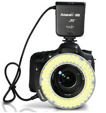 Aputure AHL-HC100 CRI95+ LED Macro Ring Flash Light for Canon 5D Mark II 60D 70D