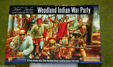 WARLORD Games Woodland Indiano Festa di guerra & FRANCESE guerre indiane 28mm Box Set