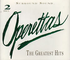 Operettas: The Greatest Hits (2 CDs 1995 Reference Gold) Gold CD/Surround Sound