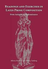 Reading and Exercises in Latin Prose Composition: From Antiquity to the Renaissa