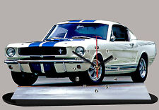 miniature FORD MUSTANG SHELBY 1965 BLEU 04