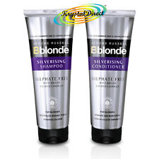 Jerome Russell Bblonde SILVERISING Sulphate Free SHAMPOO & CONDITIONER 250ml