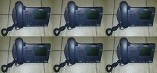 Lot of 6 Nortel i2004 IP phone (NTDU92) W/Handset