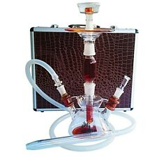 Zahrah All Glass Hookah With Case high quality shisha nargile