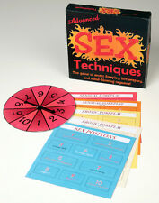ADVANCED SEX TECHNIQUES BOARD GAME!  FUN NAUGHTY GIFT Party Sex Aid Adult