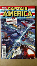 SAM WILSON CAPTAIN AMERICA #7 FIRST PRINT MARVEL (2016) STAND-OFF