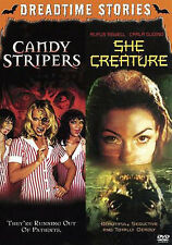 Candy Stripers / She Creature  (DVD 2 disc)   NEW