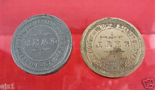 """Vintage Embossing Seal """"Minneapolis Female Academy of the Holy Angels""""/Sections"""