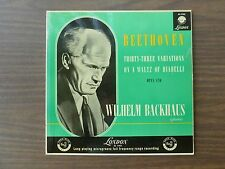 BEETHOVEN Thirty - Three Variations On A Waltz Of Diabelli - Wilhelm Backhaus