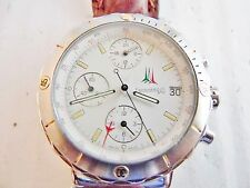 orologio eberhard crono frecce tricolori acciaio automatico 40 mm.