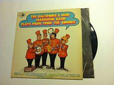 The Baltimore And Ohio Marching Band  Plays the Comics - vg/vg 1967 pop vinyl lp