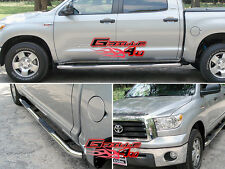 """3"""" NerfBar Stainless Steel FOR 2007-2016 TOYOTA TUNDRA CREW MAX"""