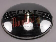 COPPA RUOTA CROMATA PER  FIAT 1100 B - 1100B BERLINA WHEEL COVER - NUOVA