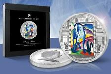 Cook Islands 2011 20$ Masterpieces of Art FRANZ MARC BLUE HORSE 3 Oz Silver Coin