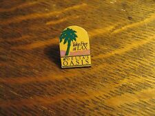 Delta Airlines Pin - DAL Vintage 1988 Los Angeles Airport Oasis Terminal 5 Badge