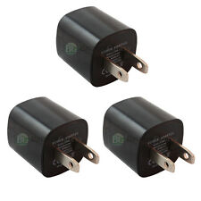 3 USB Black Travel Battery Home Wall AC Charger Adapter for Apple iPhone 5 5G 5S