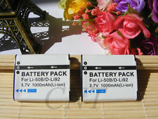 2pcs Battery for VW-VBX090 Panasonic HX-WA2A HX-WA2W HX-WA20W HX-WA03 HX-WA2D