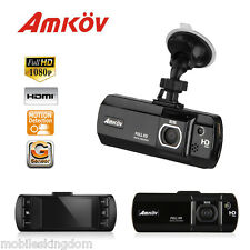 "2.7""LCD 1080P HD CAR DVR Vehicle Video Camera Recorder Dash Cam G-sensor 16MP UK"