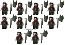 10 NEW LEGO 9471 Lord of the Rings URUK-HAI ARMY Minifig Figure Lot Sword Shield