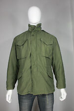 Vintage M-65 field jacket S dated 1969 cotton vietnam military liner vtg