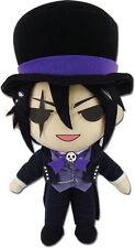 **License** Black Butler Book of Circus SD Sebastian Michaelis 8'' Plush #52769