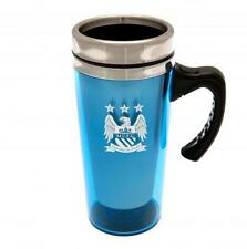Manchester City FC Aluminium Travel Mug With Handle Brand New Official Licensed