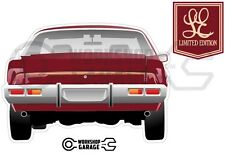 New-Collectable-Holden-Monaro-HX-Limited-Edition-LE - MEGA SIZE  Rear View
