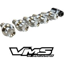VMS RACING 20 PORSCHE CAYMAN & S 987 STAINLESS STEEL LOCKING LUG NUTS BOLTS SET