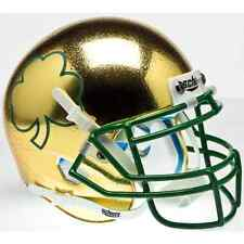 NOTRE DAME FIGHTING IRISH NCAA Schutt Authentic MINI Football Helmet (SHAMROCK)