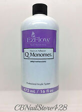 EzFlow Nail Systems- Q Monomer Liquid 16 fl.oz/ 473ml