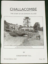 CHALLACOMBE LOCAL HISTORY - East Devon Exmoor Village People Houses Streets