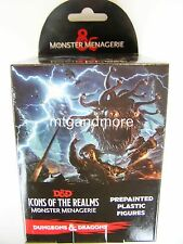D & D Donjons & Dragons Miniatures set 4: monstre ménagerie booster pack