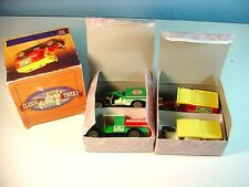 Vintage Collector's Set Of Trucks Wagon T Tanker Ambulance Van With Boxes