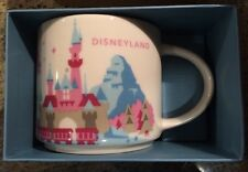 Disney Starbucks Disneyland Park Mug Cup You Are Here Collection Brand New